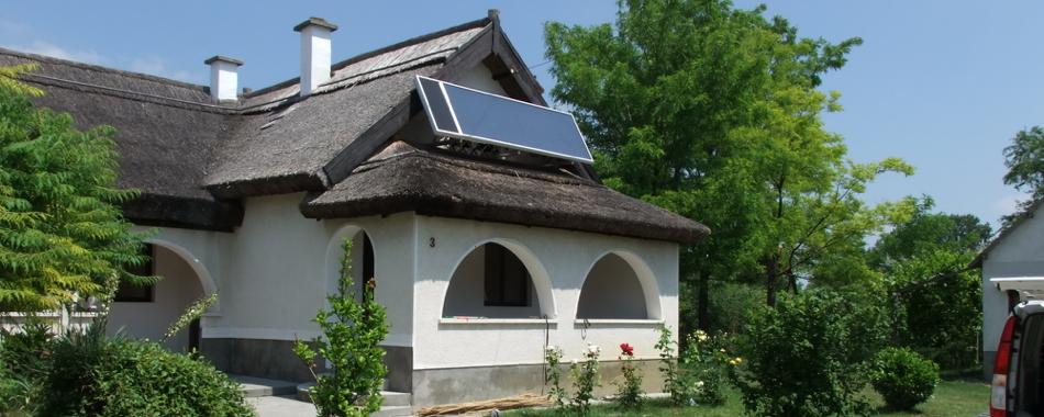Napkollektoros megoldások panzióknak