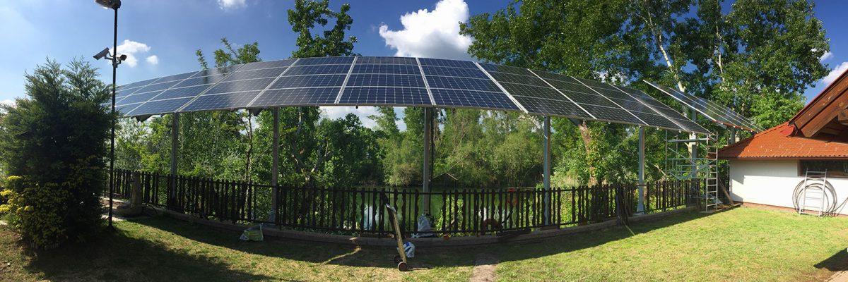 Napkollektoros megoldások